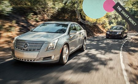 2013 Cadillac XTS vs. 2012 Bentley Continental Flying Spur Speed