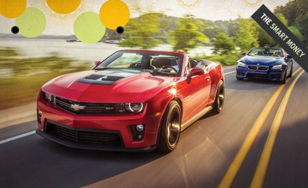 2013 Chevrolet Camaro ZL1 Convertible vs. 2012 BMW M6 Convertible