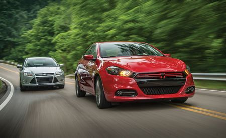 2013 Dodge Dart Rallye vs. 2012 Ford Focus SE