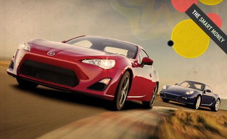 2013 Scion FR-S vs. 2012 Porsche Cayman S