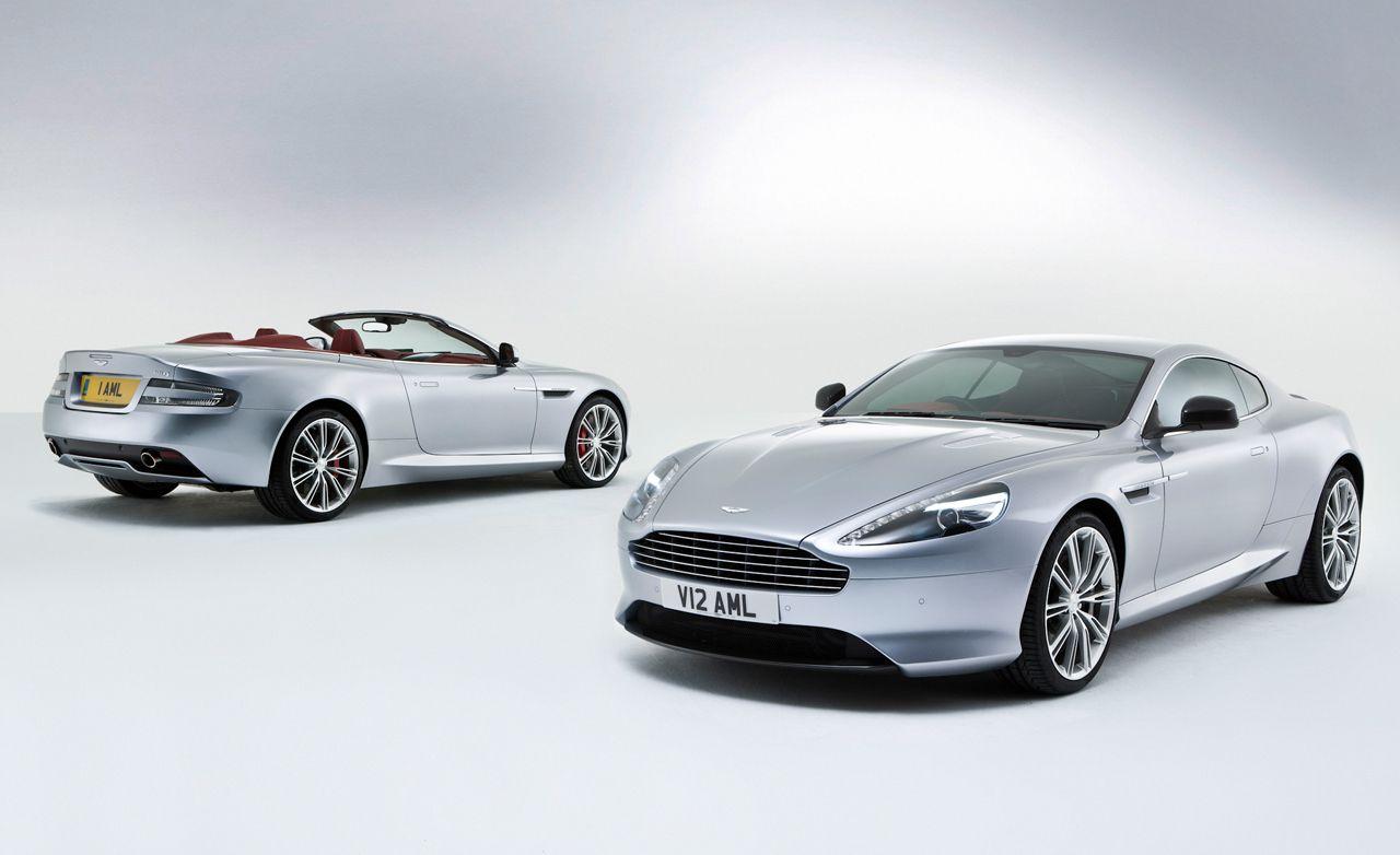 2013 Aston Martin DB9 Coupe and Volante