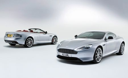 2013 Aston Martin DB9 Coupe and Volante