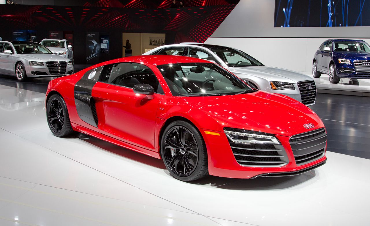 2013 Audi R8 4.2 and 5.2 Coupe and Spyder