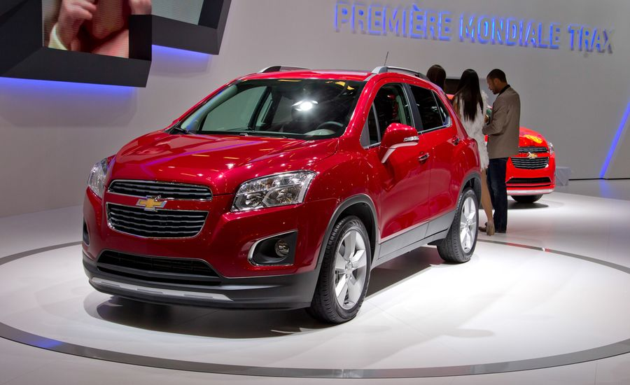 2013 Chevrolet Trax Photos And Info News Car And Driver