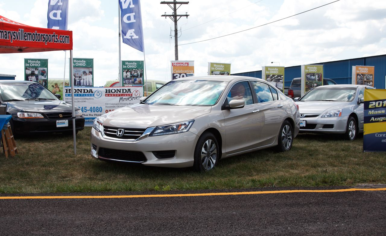 2013 honda accord sedan and coupe official photos and info car and driver. Black Bedroom Furniture Sets. Home Design Ideas