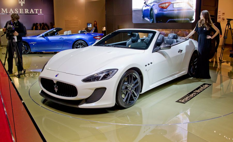 2013 Maserati Granturismo Mc Convertible Photos And Info News