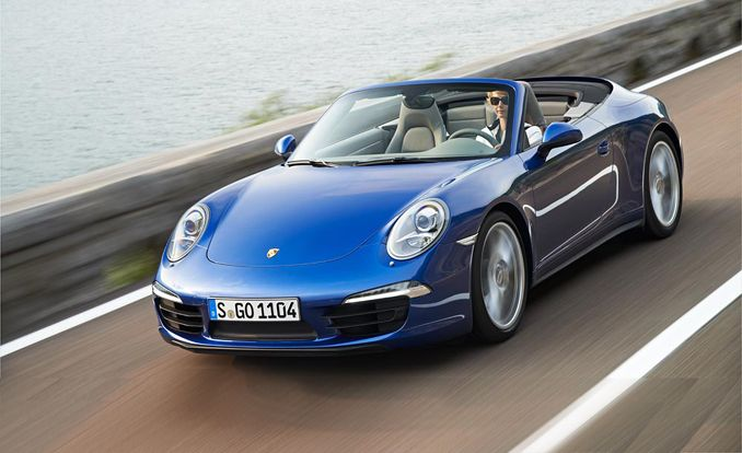 2013 Porsche 911 Carrera 4 4s First Drive Review Car And Driver