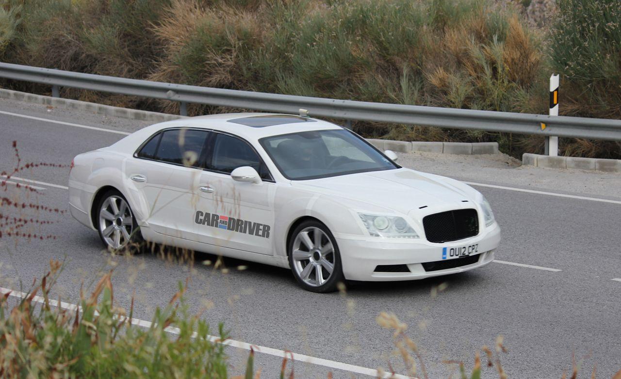 2014 Bentley Continental Flying Spur Spy Photos