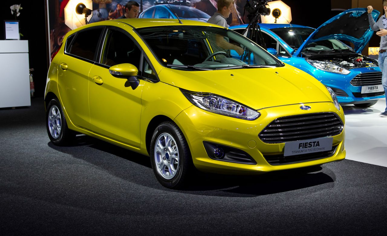 2014 ford fiesta hatchback photos and info