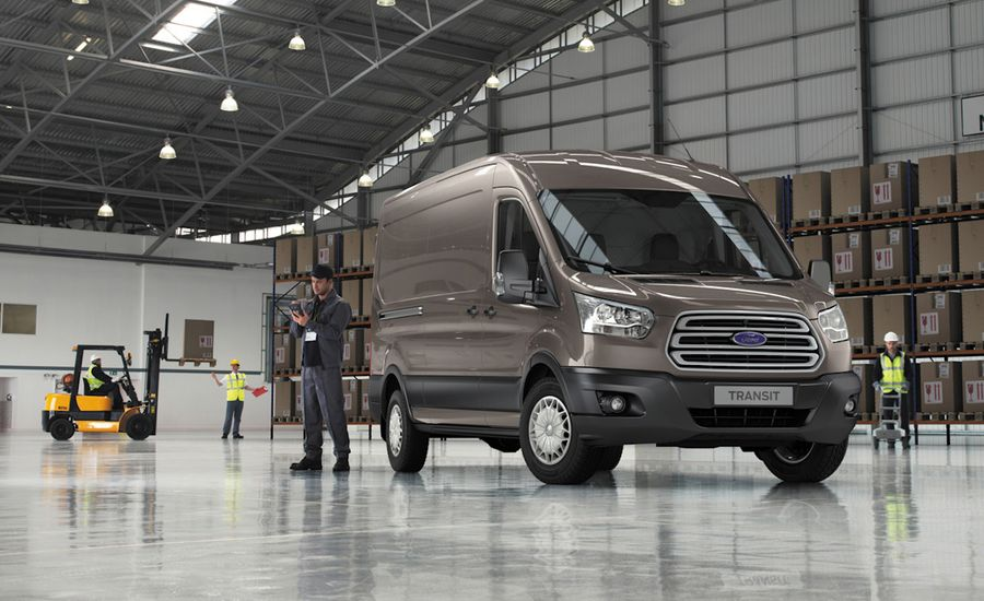 2014 Ford Transit Revealed in Europe