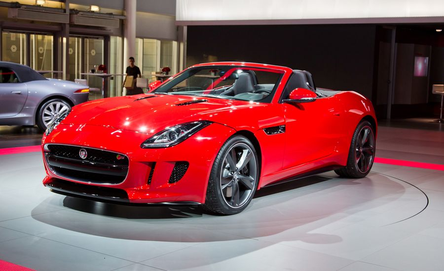 2014 jaguar f type roadster photos and info news car and driver. Black Bedroom Furniture Sets. Home Design Ideas