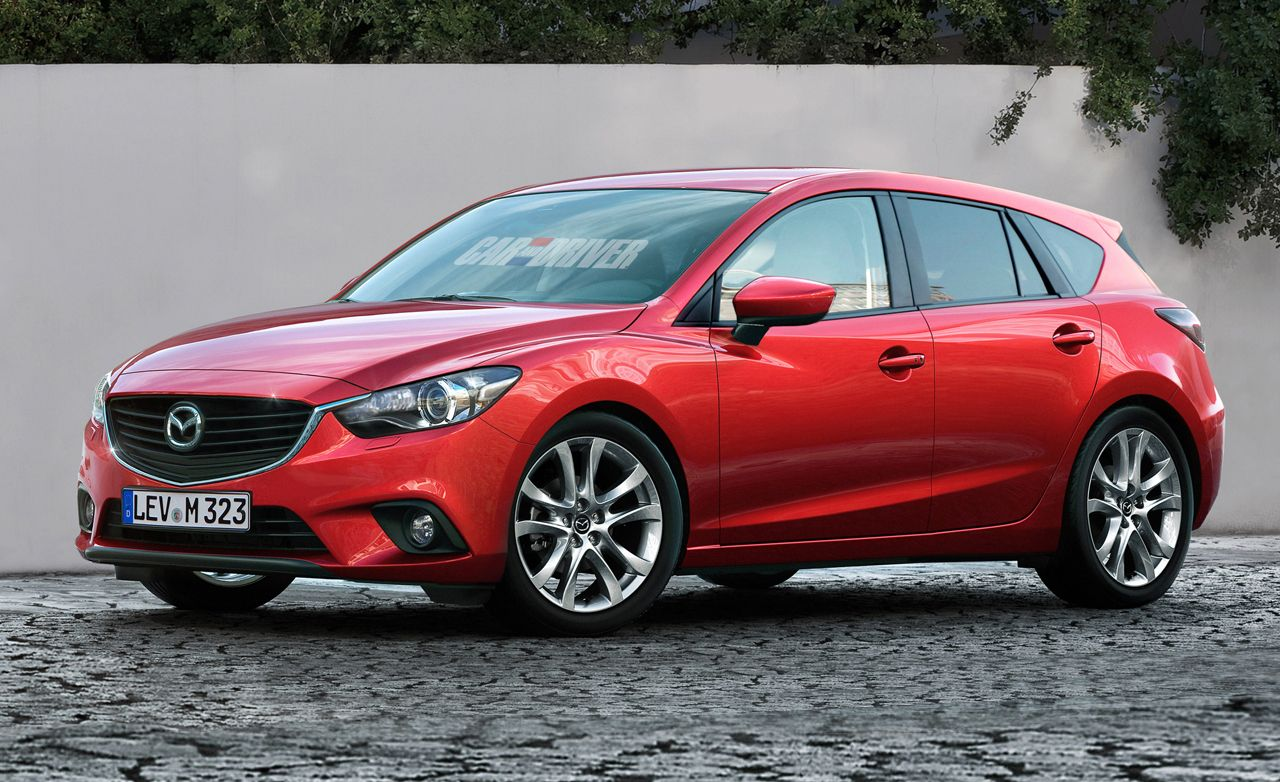 Next-Gen 2014 Mazda 3 Rendered, Detailed