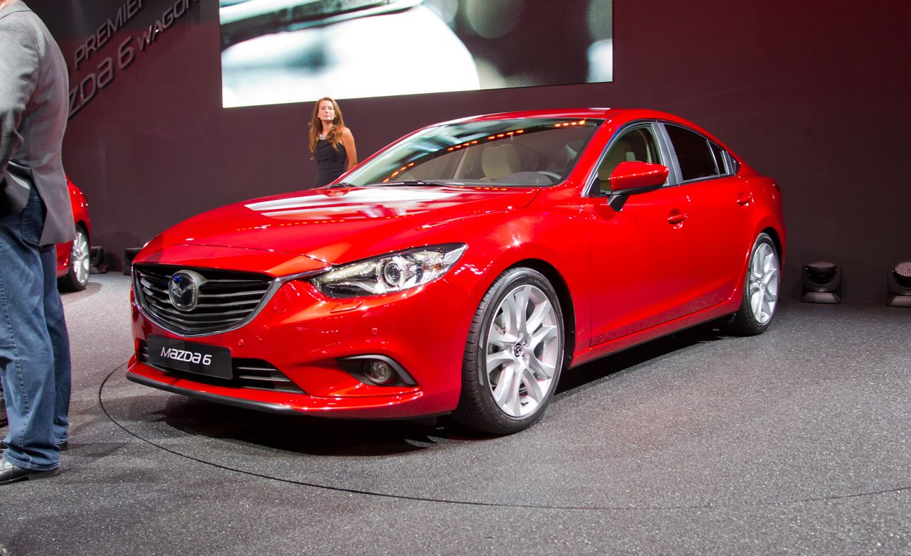 2014 mazda 6 debuts in russia photos and info released