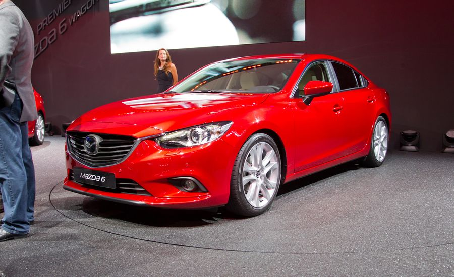 2014 mazda 6 debuts in russia photos and info released news car and driver. Black Bedroom Furniture Sets. Home Design Ideas