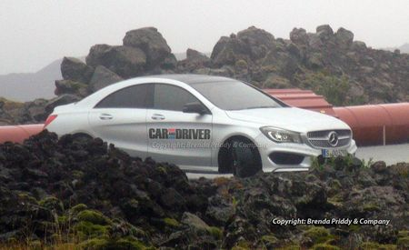 2014 Mercedes-Benz CLA-class Spy Photos