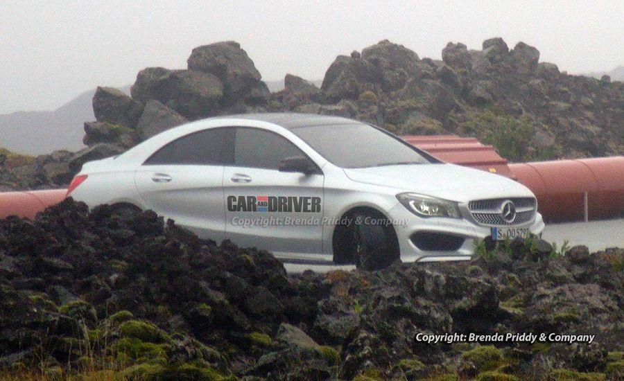 2014 Mercedes-Benz CLA-class Spy Photos