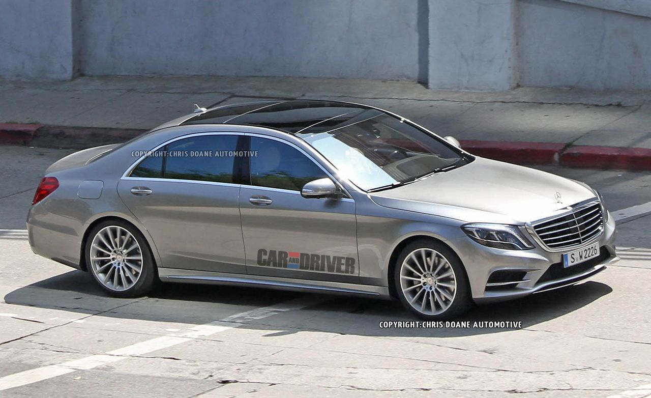 2014 mercedes benz s class spy photos completely revealed for Mercedes benz of greensboro used cars