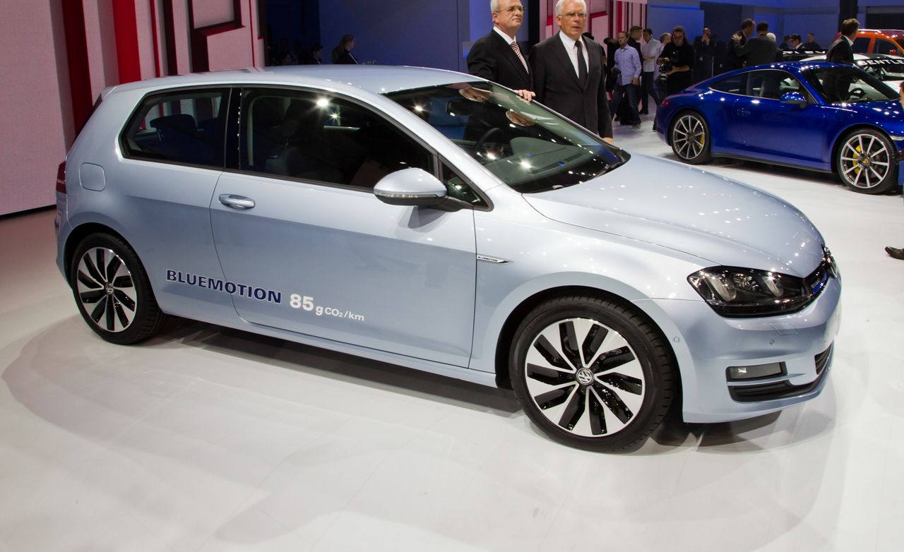 2014 volkswagen golf bluemotion photos and info auto shows car and driver. Black Bedroom Furniture Sets. Home Design Ideas