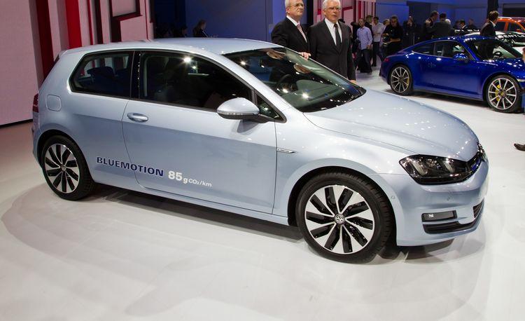 2014 Volkswagen Golf BlueMotion Concept