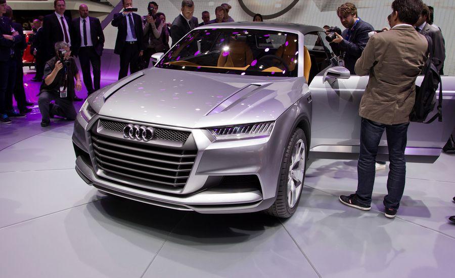 Audi Crosslane Coup233 Concept Auto Shows Car And Driver