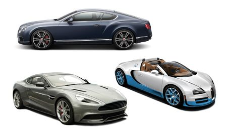 New Cars for 2013: Aston Martin, Bentley, and Bugatti
