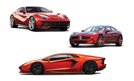 New Cars for 2013: Ferrari, Fisker, and Lamborghini