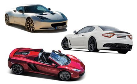 New Cars for 2013: Lotus, Maserati, and McLaren