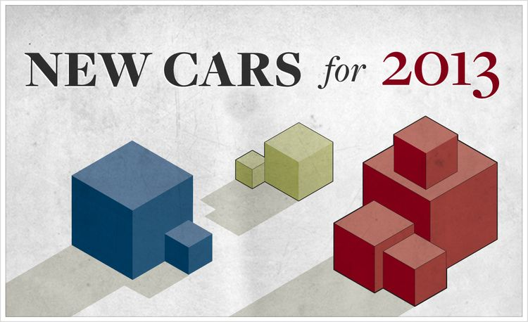 New Cars for 2013: Reviews, Comparos, Tests, and Model-Change Info