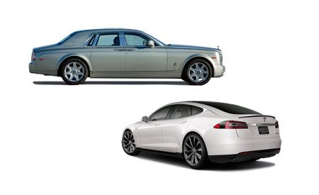 New Cars for 2013: Rolls-Royce and Tesla