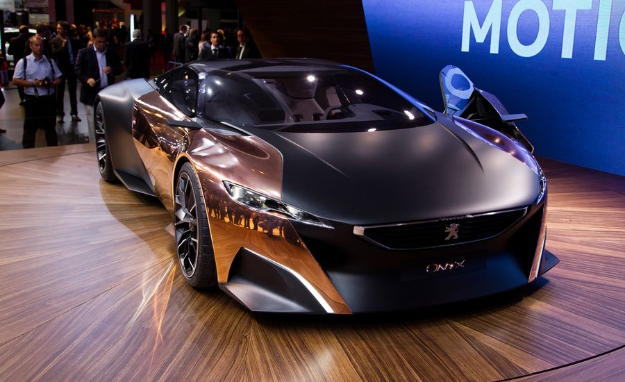 Peugeot Debuts Onyx Supercar Concept—It Has Copper Doors!