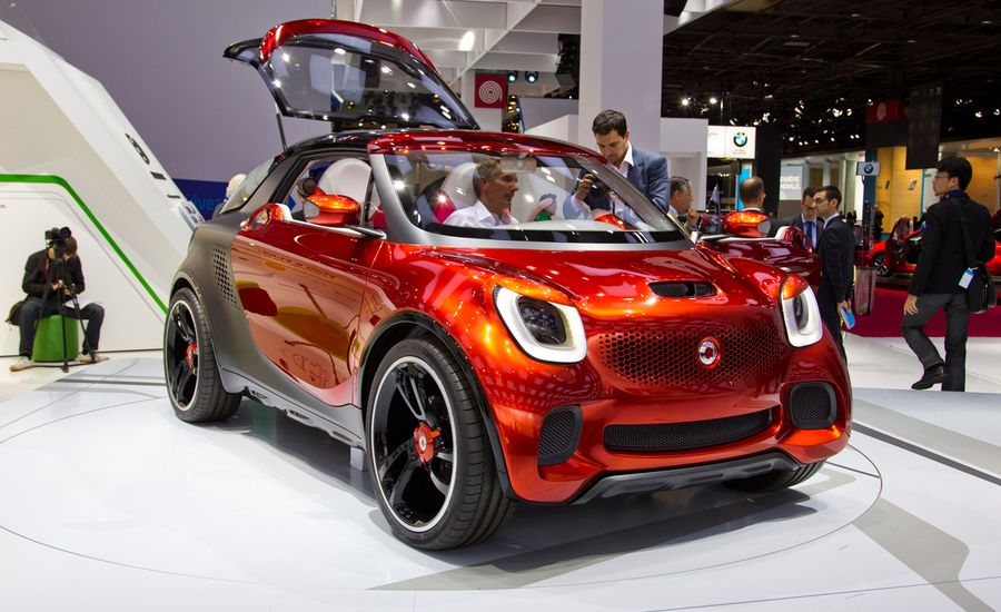 Smart Forstars Concept Photos And Info News Car And Driver