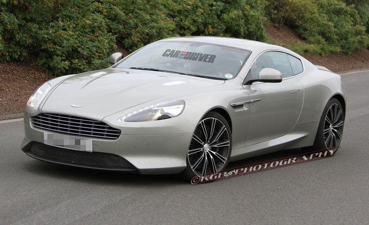 2013 Aston Martin DB9 Spy Photos