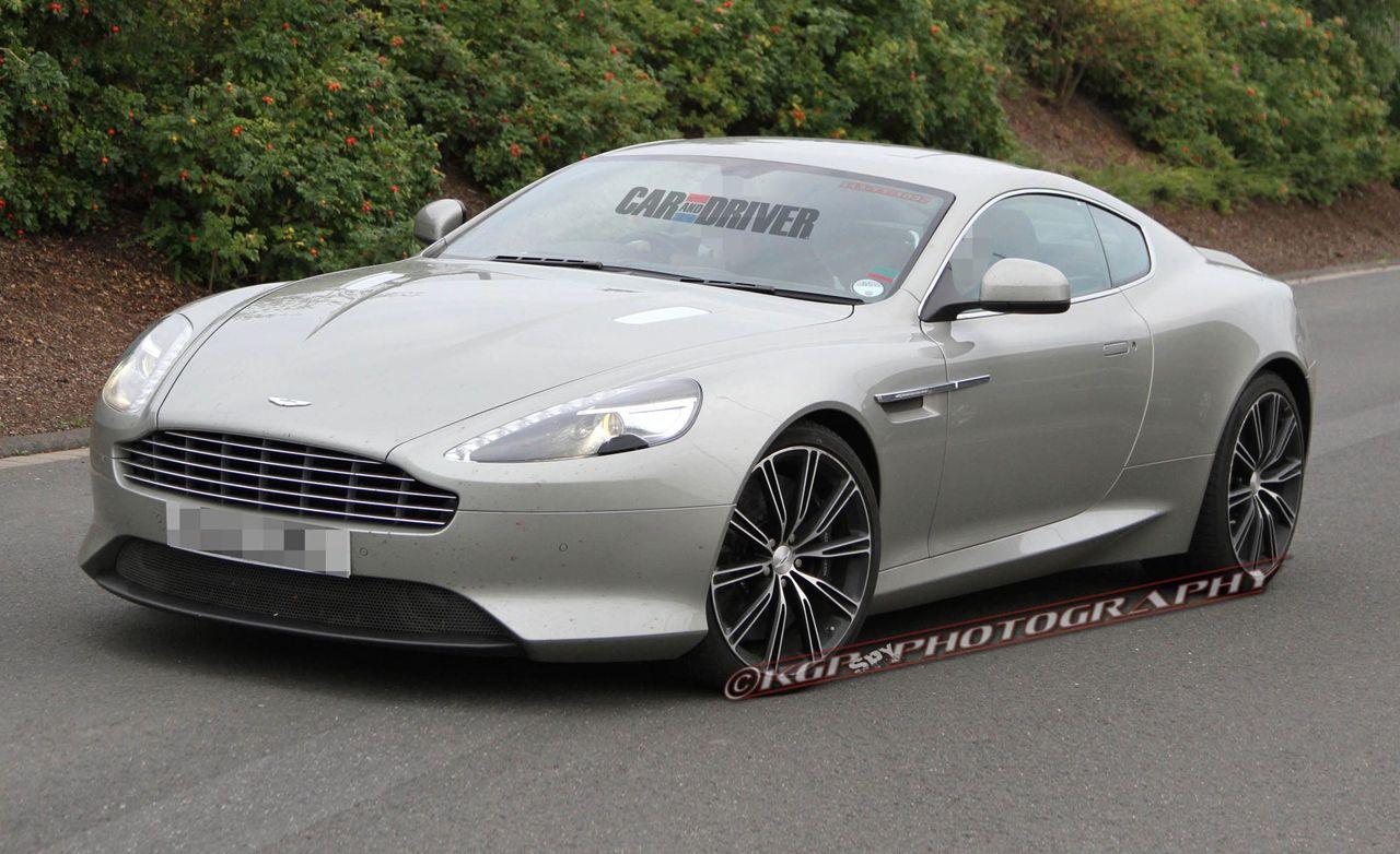 Delicieux 2013 Aston Martin DB9 Spy Photos