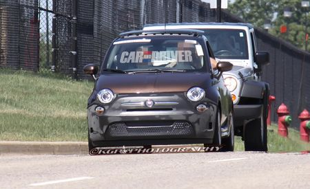 2013 Fiat 500E Spy Photos