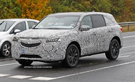 2014 Acura MDX Spy Photos