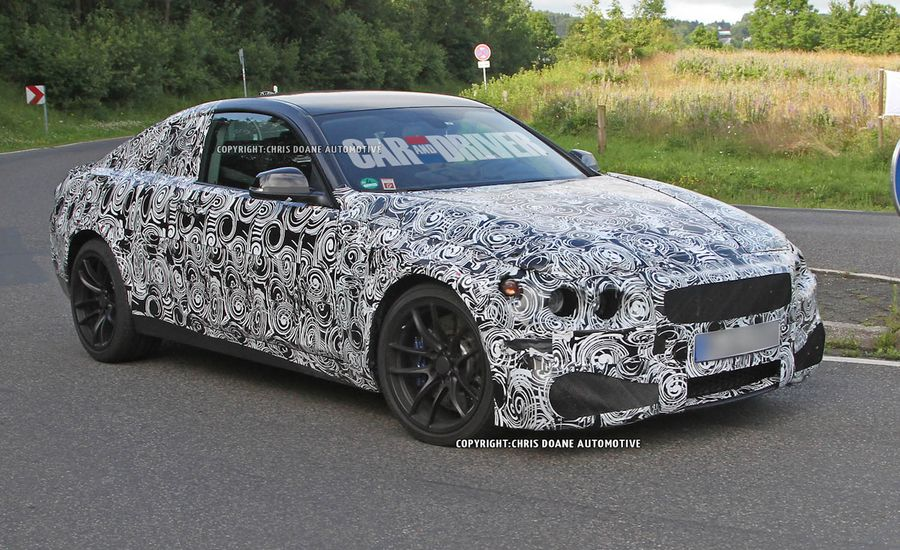 2014 BMW M3 Coupe/M4 Spy Photos