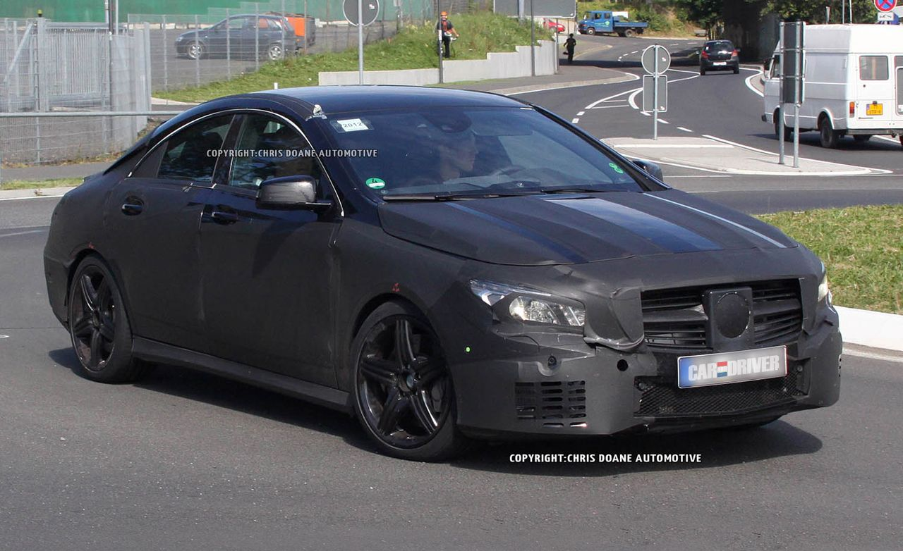 2014 Mercedes-Benz CLA45 AMG Spy Photos