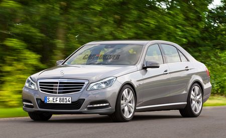 2014 Mercedes-Benz E-class Rendered