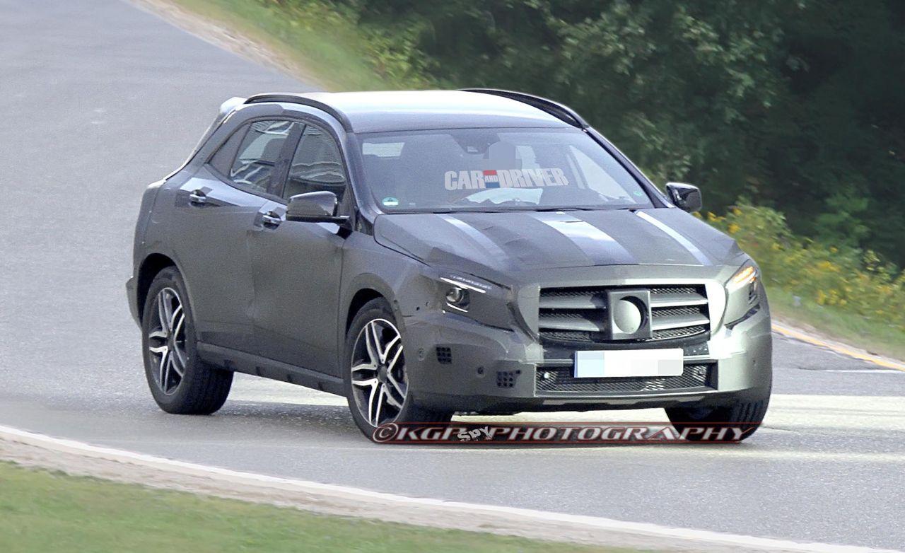 2014 Mercedes-Benz GLA-class Spy Photos