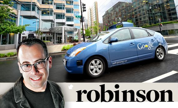 Aaron Robinson: Google is My Co-Pilot. What Can go Wrong?