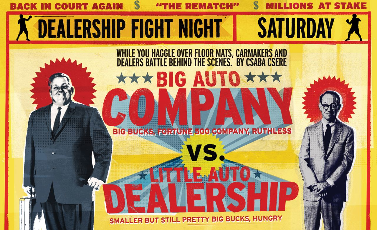 Dealership Fight Night! Inside the Battle Between Dealers and Carmakers