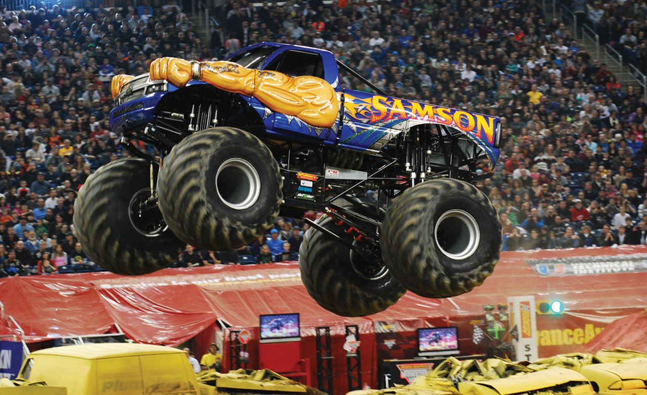 The Physics Of: Monster Trucks