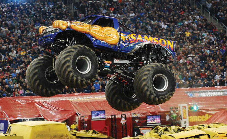 The Physics Of: Monster Trucks