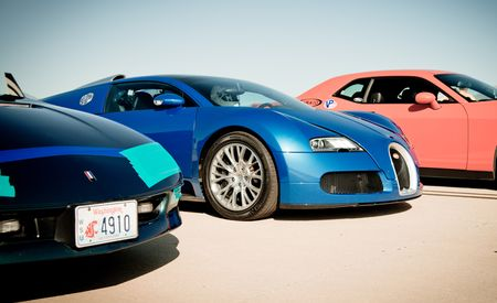200-mph Club: Scorching the Mojave Mile in a Bugatti Veyron Grand Sport