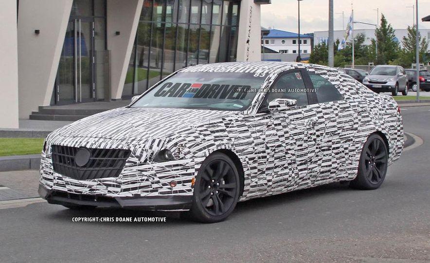 2014 Cadillac CTS (spy photo) - Slide 4