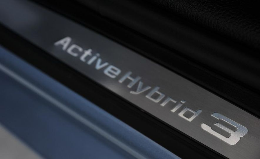 2013 BMW ActiveHybrid 3 - Slide 23
