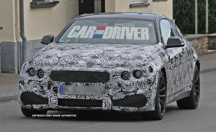 2014 BMW M4 coupe (spy photo) - Slide 5