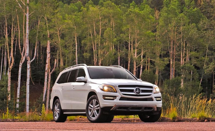 2013 Mercedes-Benz GL350 BlueTec - Slide 1