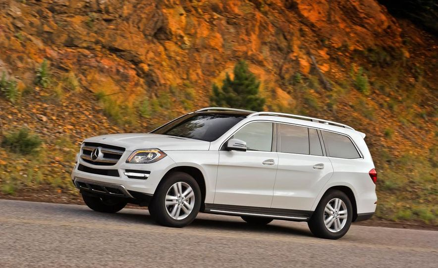 2013 Mercedes-Benz GL350 BlueTec - Slide 2