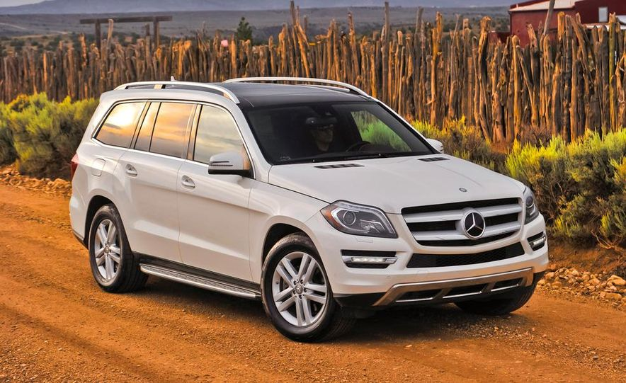 2013 Mercedes-Benz GL350 BlueTec - Slide 14